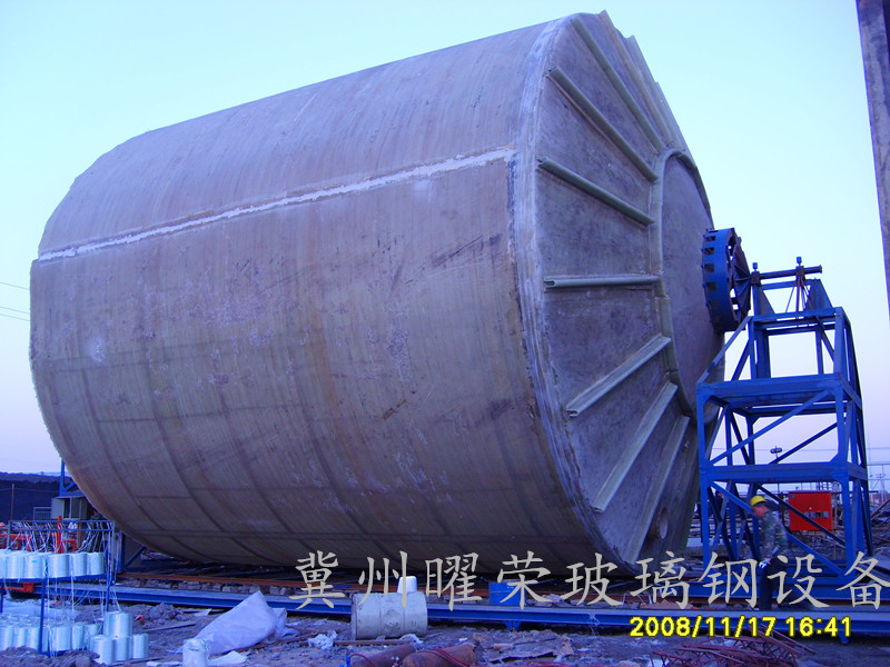 Site tanks Horizontal winding machine